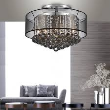 crystal world radiant semi flush mount ceiling light 5062c20c