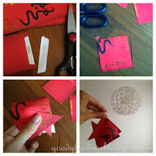 goodyfoodies kids craft gold fish u0026 lantern for chinese new year