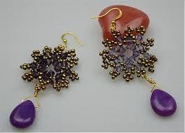 make stud earrings how to make stud earrings pair of delicate snowflake shape stud