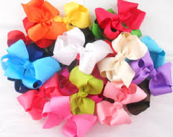 hair bows for sale sale 10 hair bows set baby bows solid bow set toddler