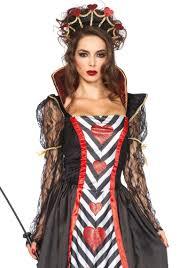 wonderland queen of hearts halloween costume