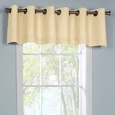 Chocolate Brown Valances For Windows Buy Grommet Valances Window Treatments From Bed Bath U0026 Beyond