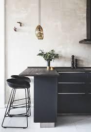 Black Kitchen Island With Stools 33 Masculine Kitchen Furniture Ideas That Catch An Eye Digsdigs