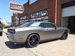 Dodge Challenger On Rims - dodge challenger with kmc wheels no limit inc