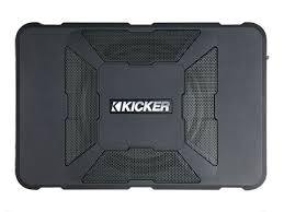 hideaway powered subwoofer kicker