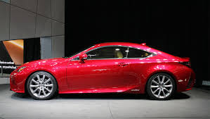 red lexus 2015 2014 detroit auto show lexus will launch rc coupe with a new