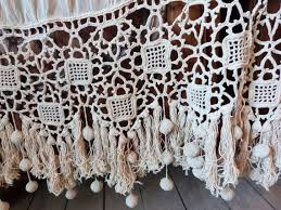 Crochet Lace Curtain Pattern 143 Best Windows Curtains And Drapery Images On Pinterest
