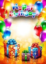 happy birthday postcards set of happy birthday postcards design elements vector 02 vector