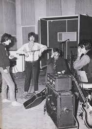 the beatles during the making of sgt peppers 1967 the beatles