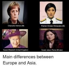 Queen Elizabeth Meme - chancellor merkel 59 queen elizabeth united kingdom premier minister