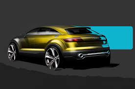 porsche concept sketch audi q4 concept sketches shown ahead of beijing show motor trend wot