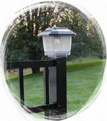 Solar Light For Fence Post - jerith aluminum ornamental fencing accessories