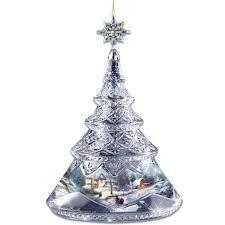 kinkade tree ornaments rainforest islands ferry