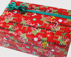 personalized gift wrapping paper christmas wrapping paper and gift wrap name maker inc