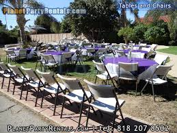 party tables for rent rentals tables chairs chafing dishes tablecloths linen prices and
