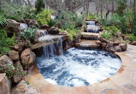 Natural Backyard Pools by Love This Natural Setting Of The Waterfalls Over Rocks Into A