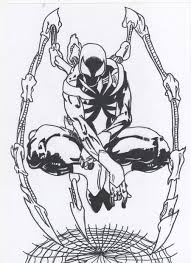 carnage coloring pages venom vs spiderman coloring pages