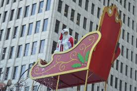 the 67th annual h e b thanksgiving day parade ended with santa