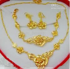 cheap 24k gold bridal sets free shipping 24k gold bridal sets