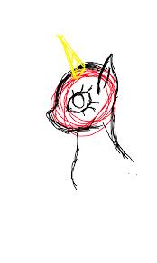 mlp sketch by ticcitobygaminggirl on deviantart