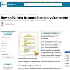 branding statement resume examples how to write a branding statement to your resume