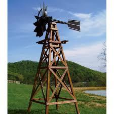 ornamental wood windmill decorative windmills the pond