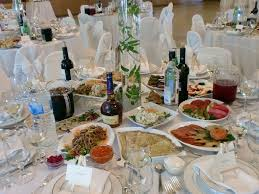 russian wedding dinner table everything tasted amazing flickr