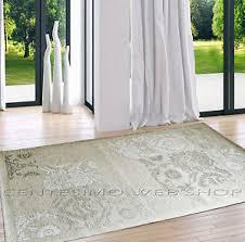 tappeto soggiorno tappeto classico damascato in 6 misure beige soggiorno cucina