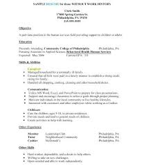 Resume Template For Caregiver Position Human Services Resume Templates Caregiver Exle Of