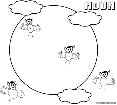 moon coloring pages coloring pages to download and print