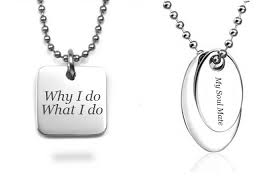 engrave a necklace custom engraving ideas to help you get inspired