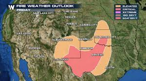 The Great Plains Map A Fiery March For The Great Plains Weathernation