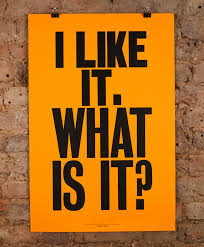 i like it what is it by anthony burrill nelly duff