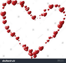 valentine heart made hearts stock vector 23908435 shutterstock