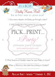 who knows best baby shower baby shower knows best printable diy on luulla