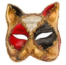venetian masks types classical venetian carnival mask isolated on white background