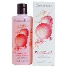 gel argan crabtree pomegranate argan grapeseed bath shower gel