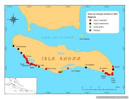 Map Of Caribbean Sea Islands by The Sea Turtles Of Saona Island Conservation Seavistours
