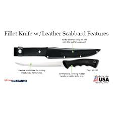 fillet knife leather scabbard rada cutlery rada kitchen store