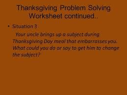 thanksgiving social skills what social skills do we to use