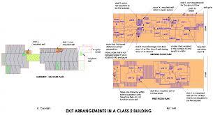 bca floor plan building code of australia bca part d1 d1 2 number of exits