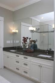Mirror On Mirror Bathroom Bathroom Mirror And Lights