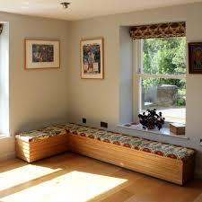 Window Seat With Storage Window Bench Seat With Storage Upholstered Bench Diy Window Bench