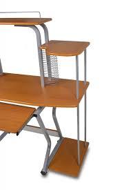 Computer Schreibtisch Buche Pc Tisch Mobil Computertisch Buche Platzsparend