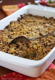 vegan southern style cornbread dressing recipe from fatfree