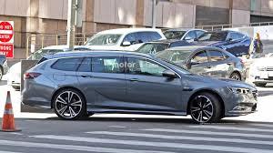 opel commodore 2018 2017 opel insignia sedan and wagon break cover
