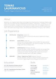 Template For A Good Resume Free Template For Resume Berathen Com