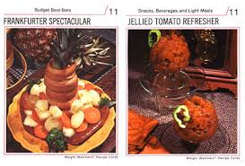 cuisine weight watchers weight watchers recipe cards of the 70s foodiggity