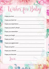 wishes for baby cards wishes for baby shower activity baby shower theme for