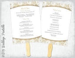 diy wedding programs kits wedding programs diy unique kits fan program paper kit hixathens